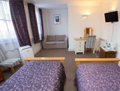 Deluxe Triple Room, The Buttery, Broad St Oxford